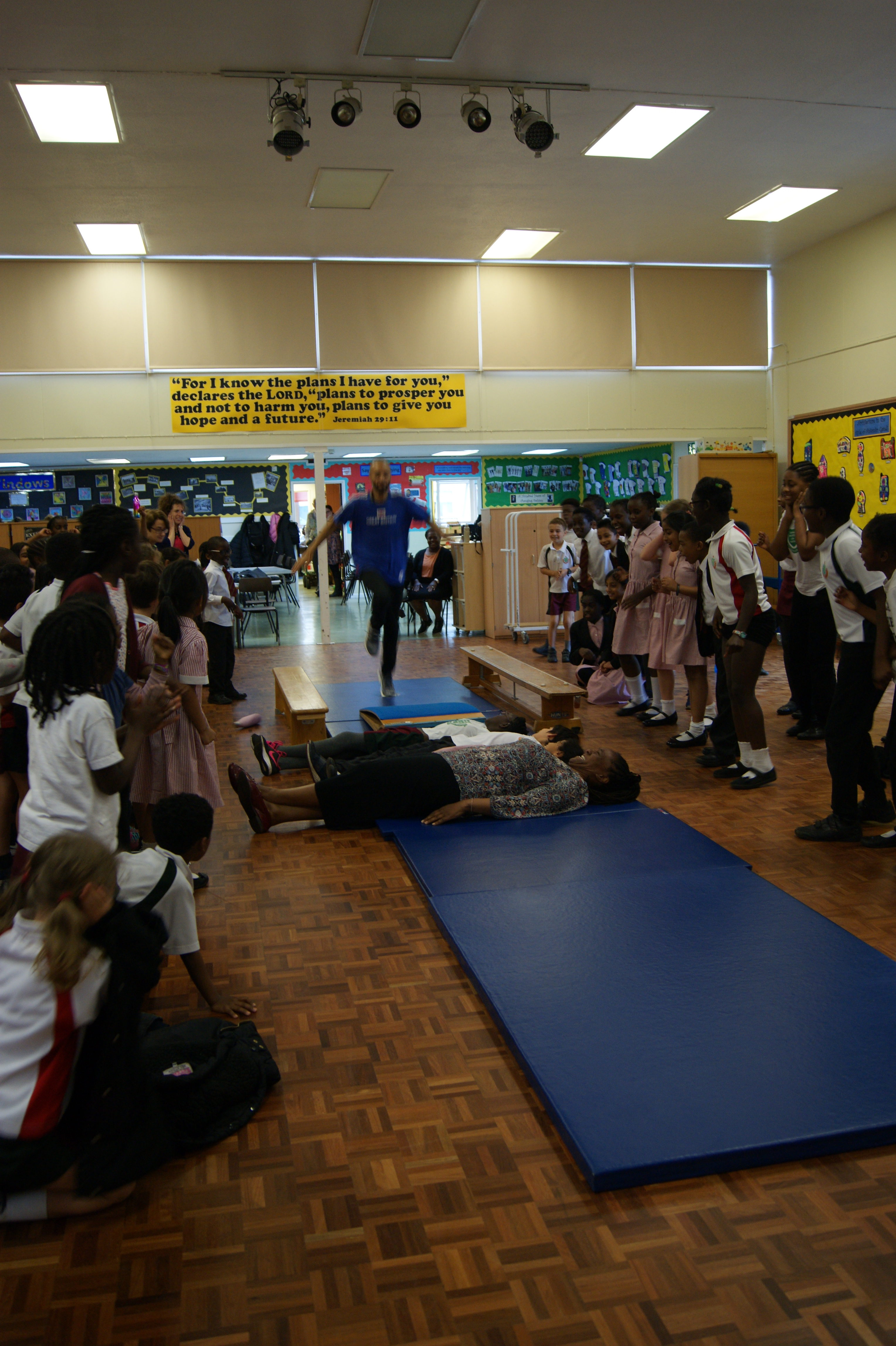 Sports for Schools visit