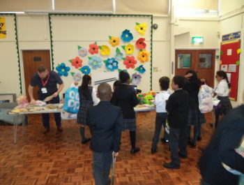 Veolia Visit for Recycling Week