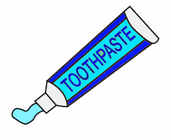 We made toothpaste!