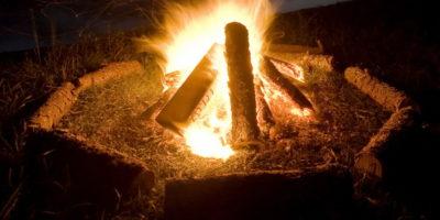 The residential bonfire and scavenger hunt