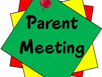 Introductory Parent Evening – Academic Year 2021-22